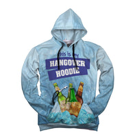 Hangover Hoodie Drink Holding Unisex Camo Hoodie with bottle opener