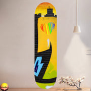 Love Eater Skateboard Wall Art with Mounts included. (1pcs)