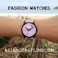 Strong Beautiful Collectors Edition Black Fashion Watch