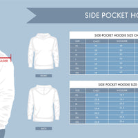 Quality Customer Service White Side Pocket Premium Hoodie