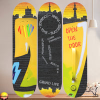Grind Life Skateboard Wall Art with Mounts included (1pcs)