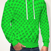 Enlightened Collection Green Super Soft Premium Hoodie