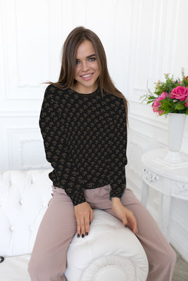 Namaste Classic Black Premium Super Soft Sweater