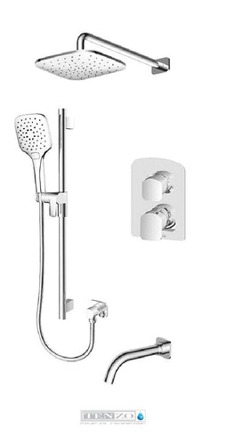 DELANO COLLECTION Shower kit, 3 functions DEPB33-501145-CR