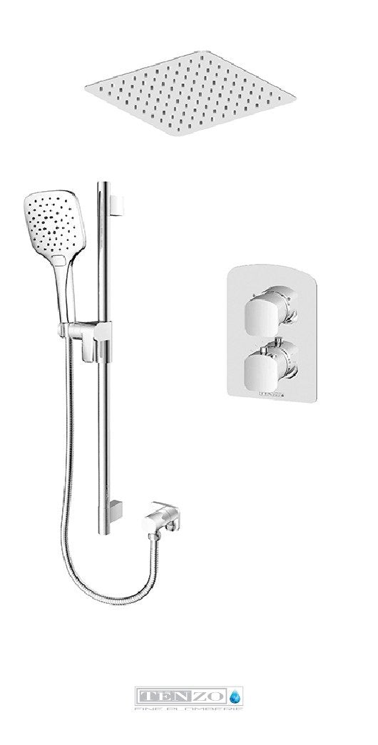 DELANO COLLECTION Shower kit, 2 functions thermostatic DET32-21164-CR