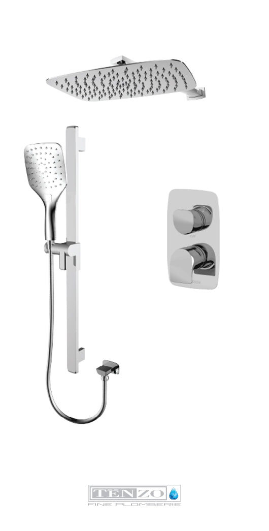 NUEVO COLLECTION T-Box shower set, 2 functions NUPB32-20110-CR