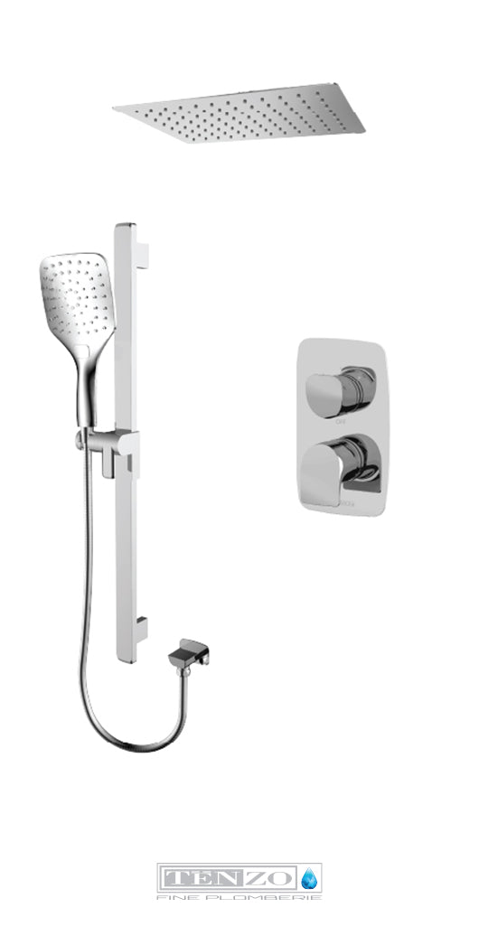 NUEVO COLLECTION Shower kit, 2 functions NUPB32-21167-CR