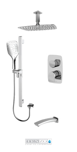 NUEVO COLLECTION Shower kit, 3 functions NUPB33-511315-CR
