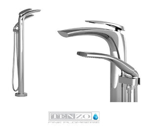 NUEVO COLLECTION Freestanding Bath faucet NU51-CR