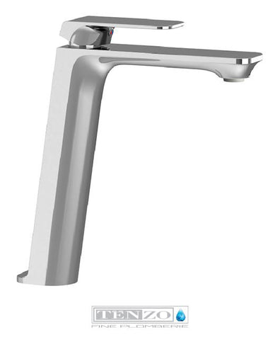 QUANTUM COLLECTION Tall single-hole lavatory faucet QU12-CR