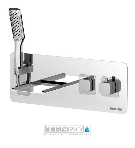 QUANTUM COLLECTION wall-mount tub faucet