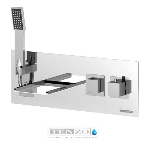 SLIK COLLECTION wall-mounted tub filler