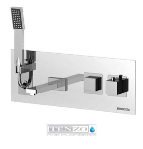 SLIK COLLECTION wall-mounted tub faucet