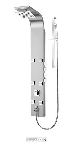 Shower columns - Stainless Steel, 4 functions TZST-06.1