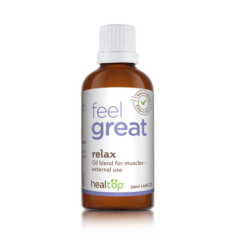 relax - natural blend for your muscles - Healtop