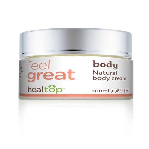 body - all natural body cream - Healtop