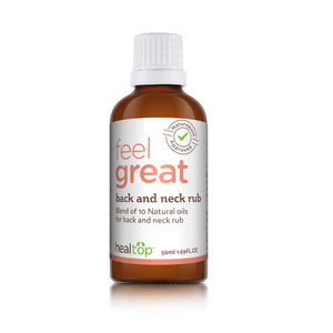 Back And Neck Rub - 10 Natural Effective Ingredients With Calming Effect - Healtop