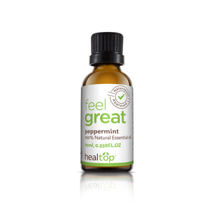 Peppermint Essential Oil - Internal And External Use - Healtop