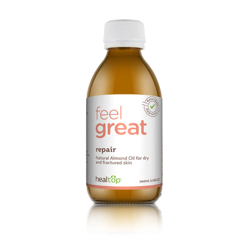 Repair - 100% Natural Almond Oil Rich In Vitamin E - Healtop