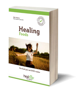 healing foods - achieve super healthy body. FREE ebook