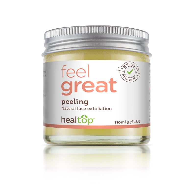 peeling - all natural exfoliation - Healtop
