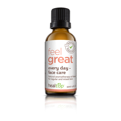 everyday face care - all natural serum for regular and mixed skin - Healtop