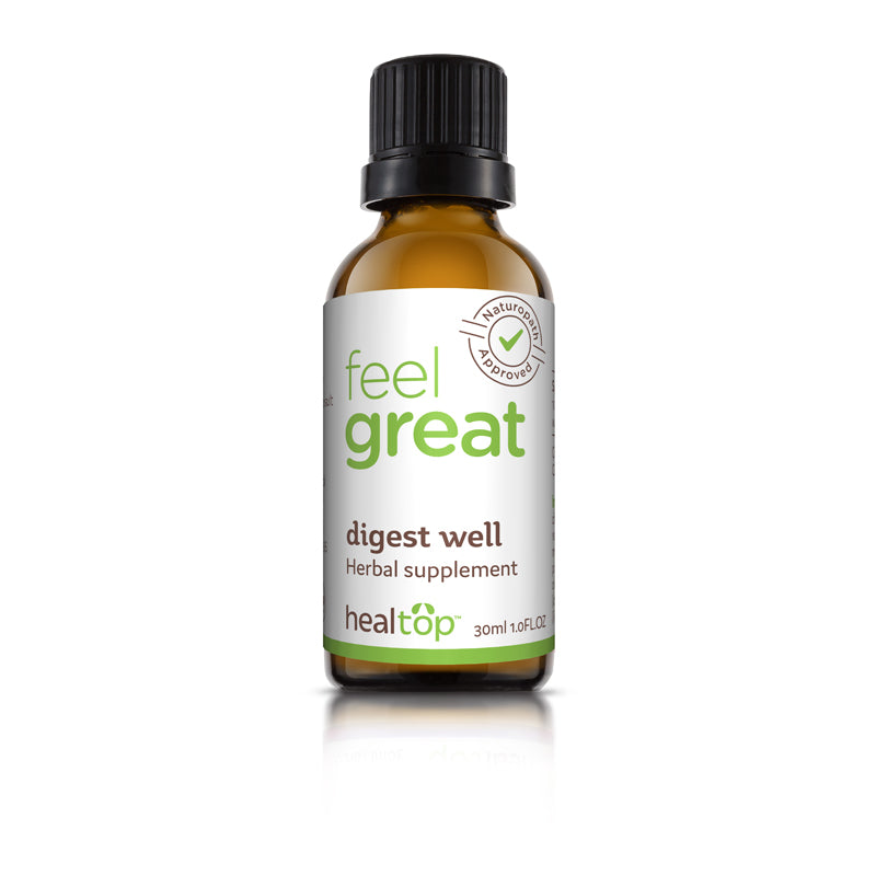 Digest Well - Natural Supplement - Healtop