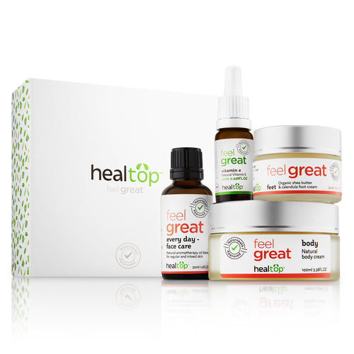 skin care set - regular or mixed skin - Healtop