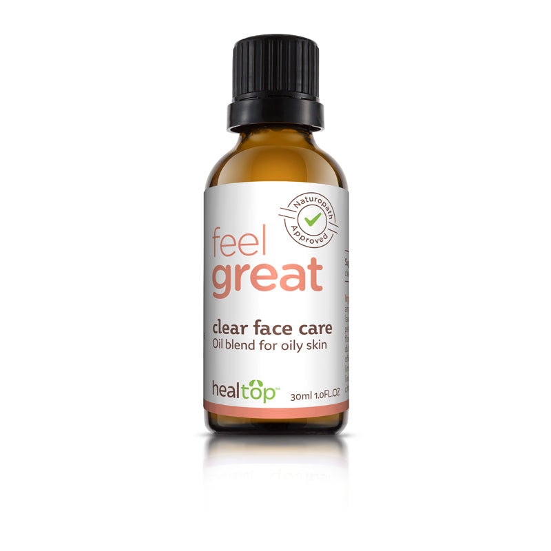 clear face care - all natural serum for oily skin - Healtop