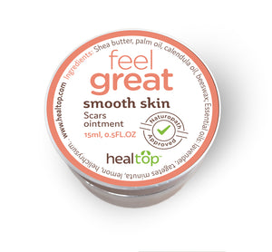 smooth skin - 100% natural for scars
