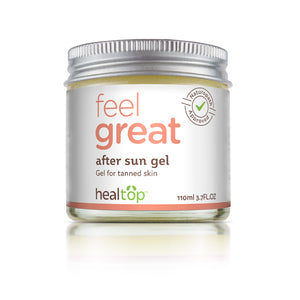 after sun gel - comfrey gel - Healtop
