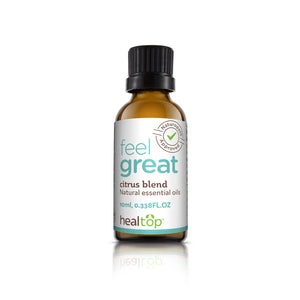 citrus blend essential oils - natural energiser