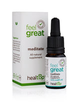 meditate - all-natural supplement - Healtop