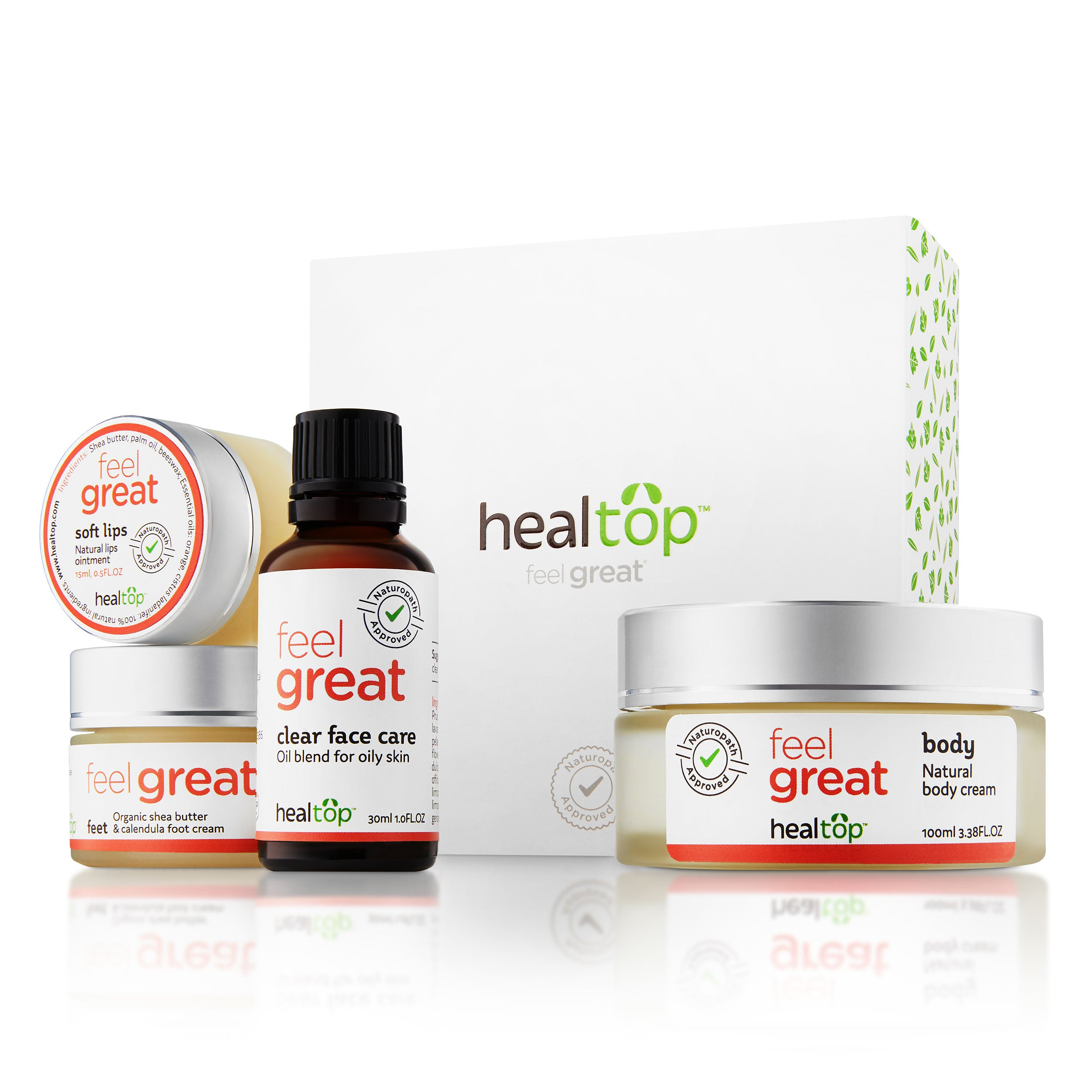 skin care kit - oily skin - Healtop