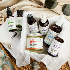 travel kit - for sun travellers - Healtop
