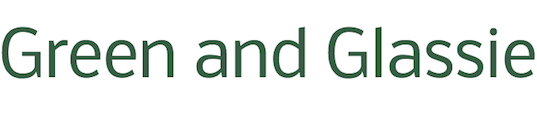 green and glassie logo