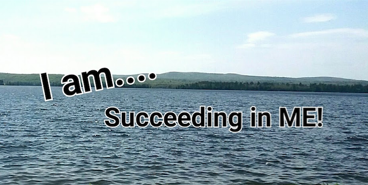 i am succeeding in me logo