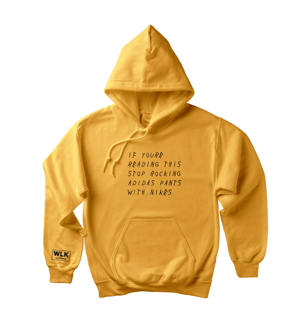 If You're Reading This Hoodie | Honey-Yellow