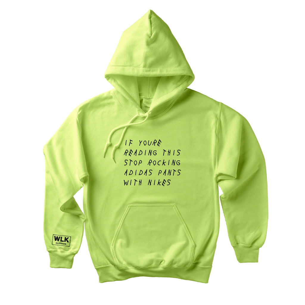 If You're Reading This Hoodie | Frozen Green