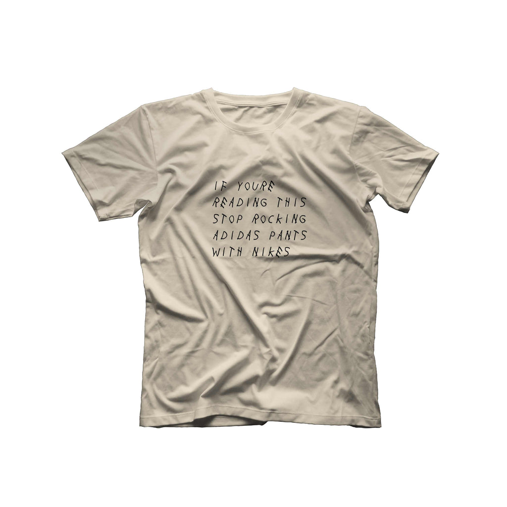 If You're Reading This T-Shirt | Beige