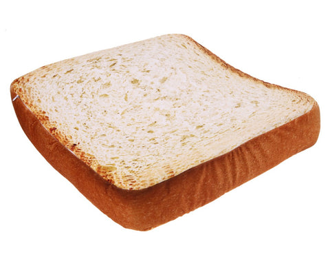 Coussin chien, chat, toast