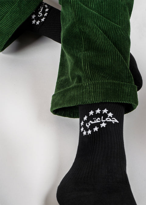 OVERDRIVE 2 SOCKS BLACK