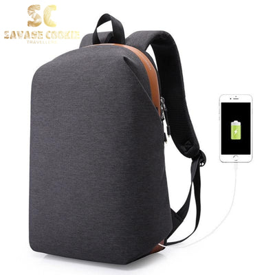 Anti Theft Waterproof Travel Backpack with USB charging