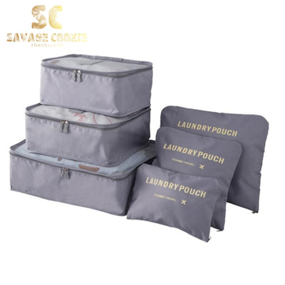 6pcs Travel Packing Bag Space Saver Bags