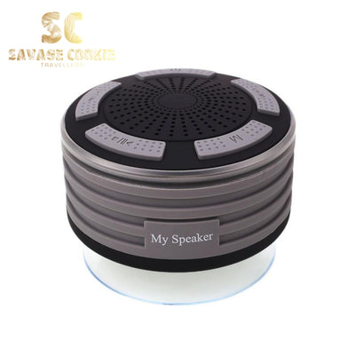 Waterproof Bluetooth Speaker with Suction Design