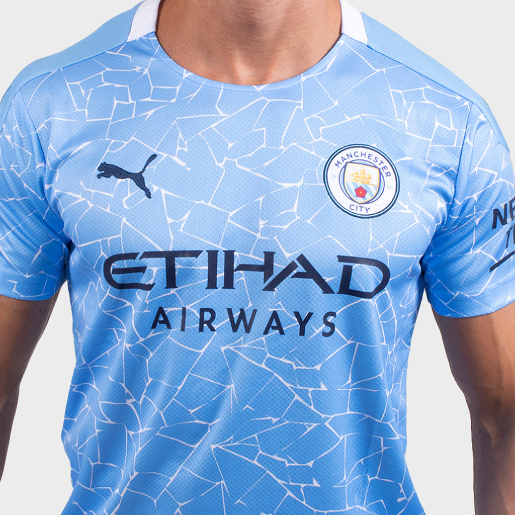 Manchester City 2020 2021 Men Home Jersey Mitani Store