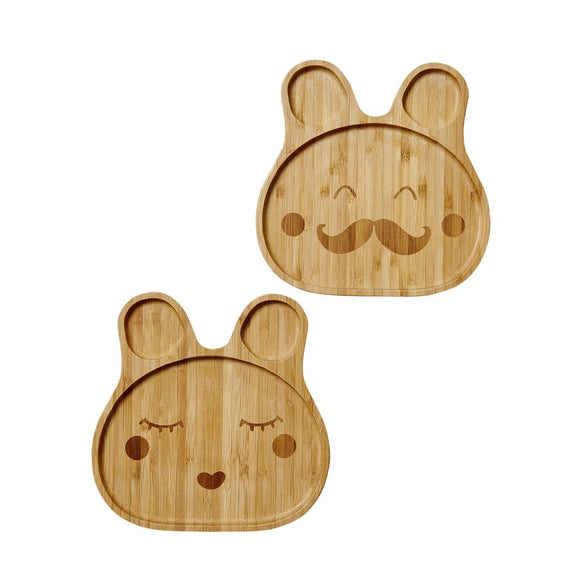 BAMBOO Kids lunch plate