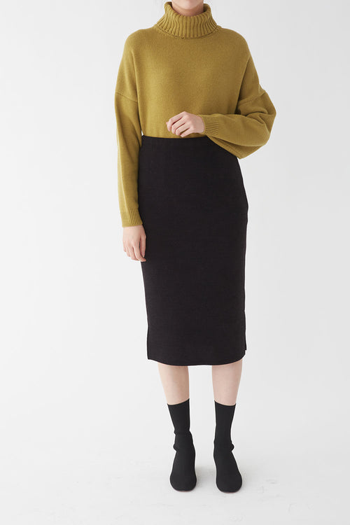 BLACK PION JERSEY SKIRT