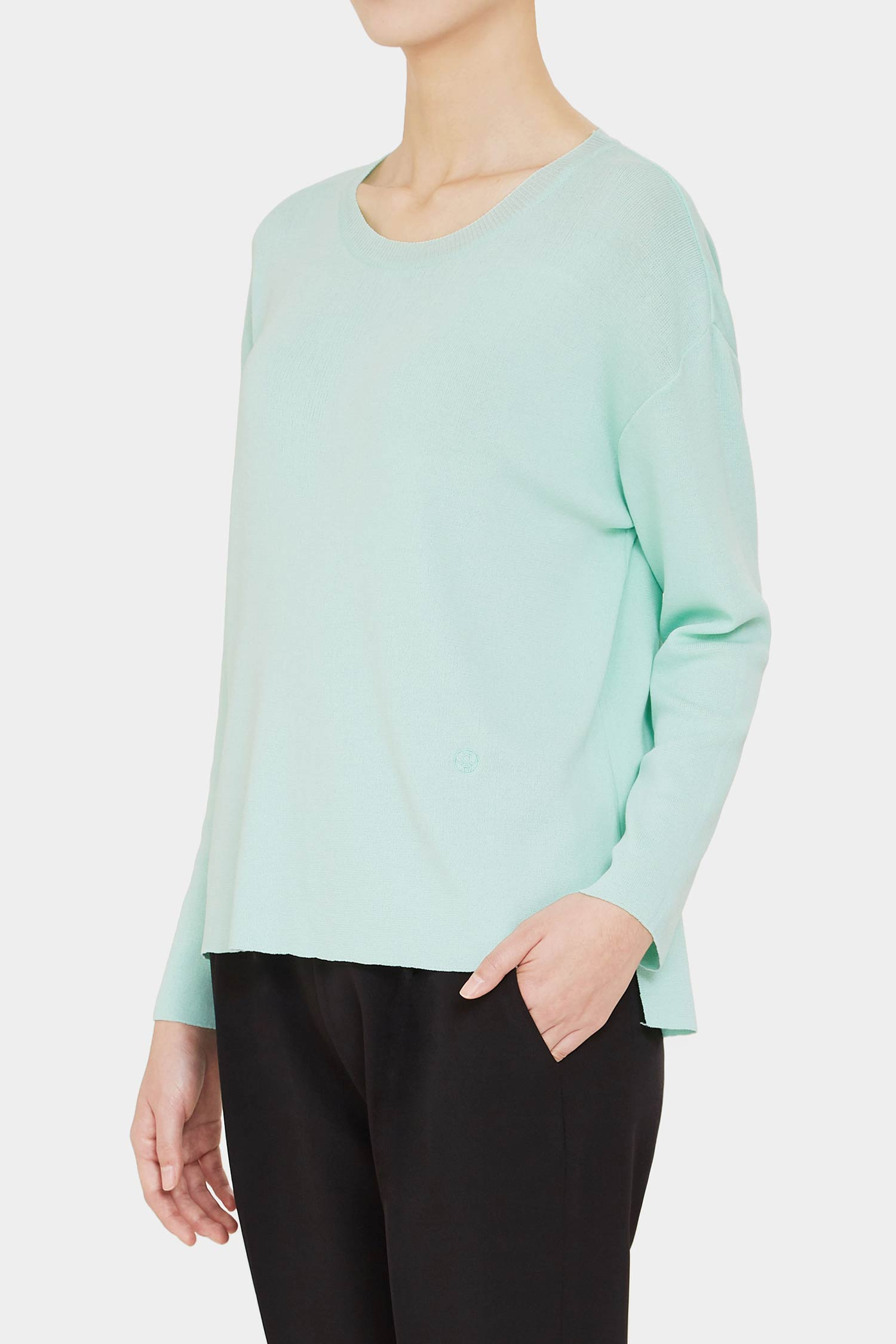 MINT ASTRID LIGHT CREWNECK