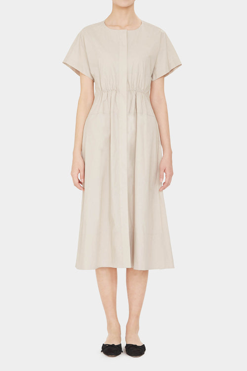 MUSLIN HELMA COTTON LONG DRESS